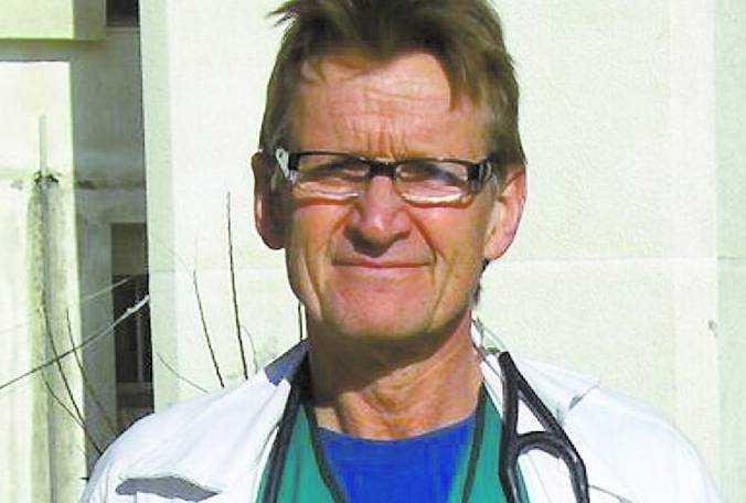 Mads Gilbert, narkosläkare.