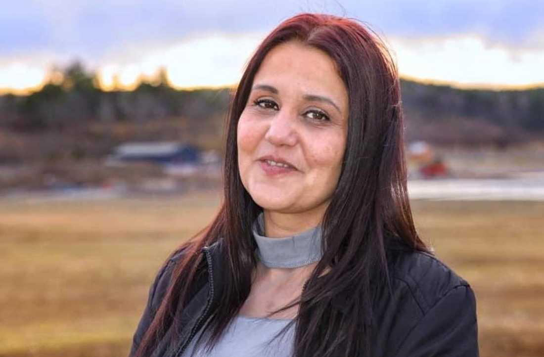 Sanije dödades av sin exman när de stötte på varandra i gångtunneln i Linköping.