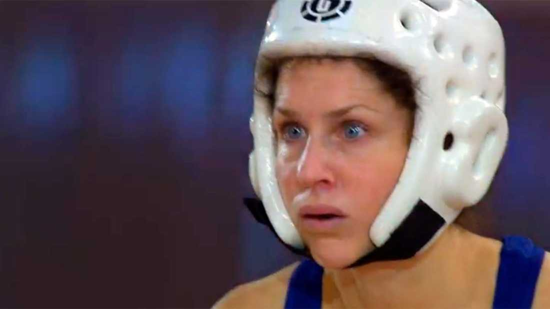 """Sara Sommerfeld i """"Gladiatorerna""""."""