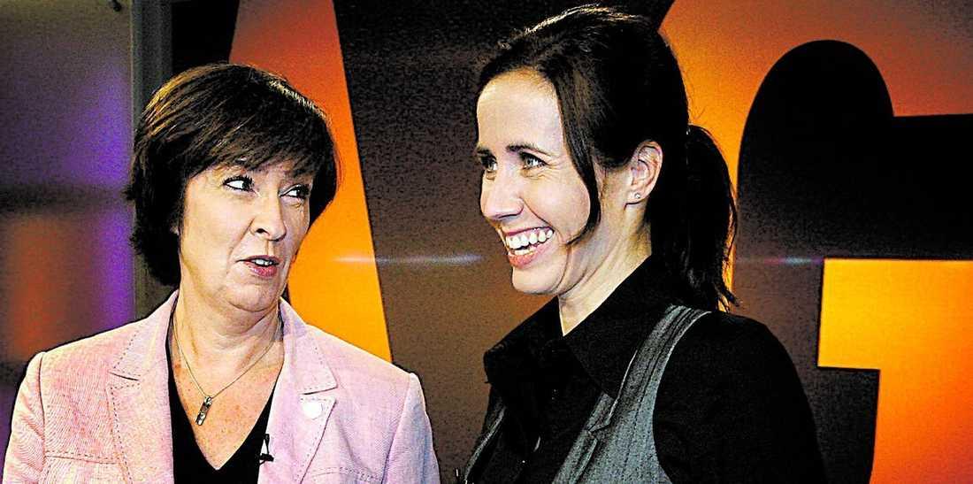 kampen om vården Premiärduellen mellan Mona Sahlin och Filippa Reinfeldt i SVT:s Agenda handlade om vården.