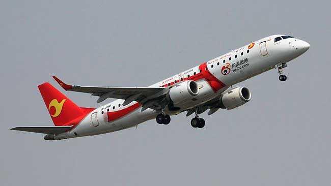 Planet som utsattes för ett kapningsförsök kom från kinesiska Tianjin Airlines.