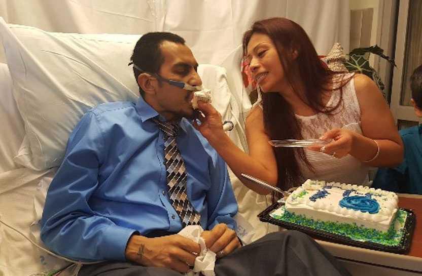 Raul Hinojosa och hans livs stora kärlek Yvonne