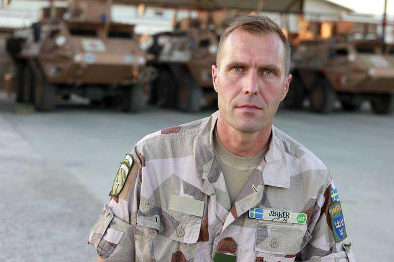 Jerker Persson, militär Sverige stabschef.