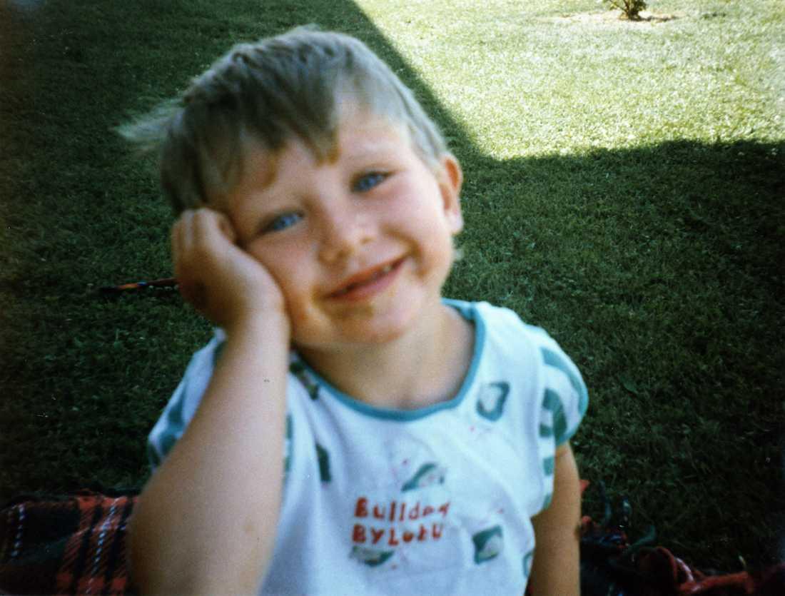 En av de sista bilderna på Kevin.