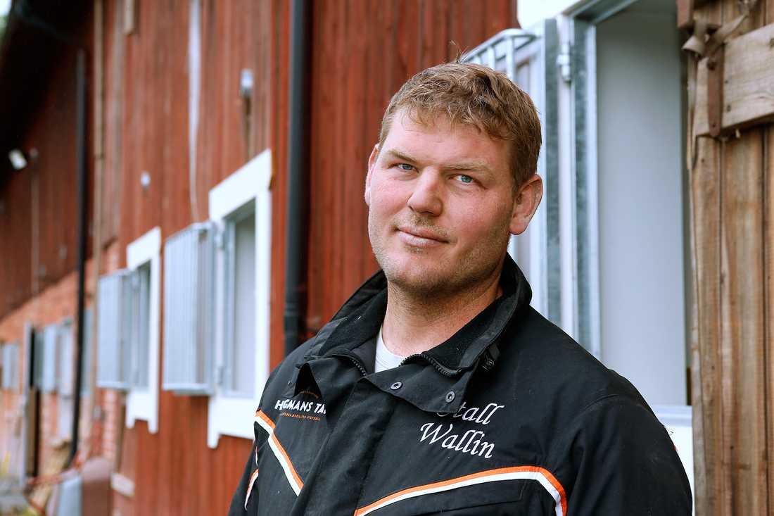 Fredrik Wallin bötfälldes med 10 000 kronor