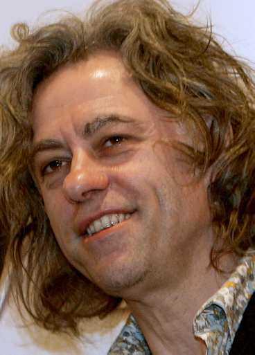 Bob Geldof.