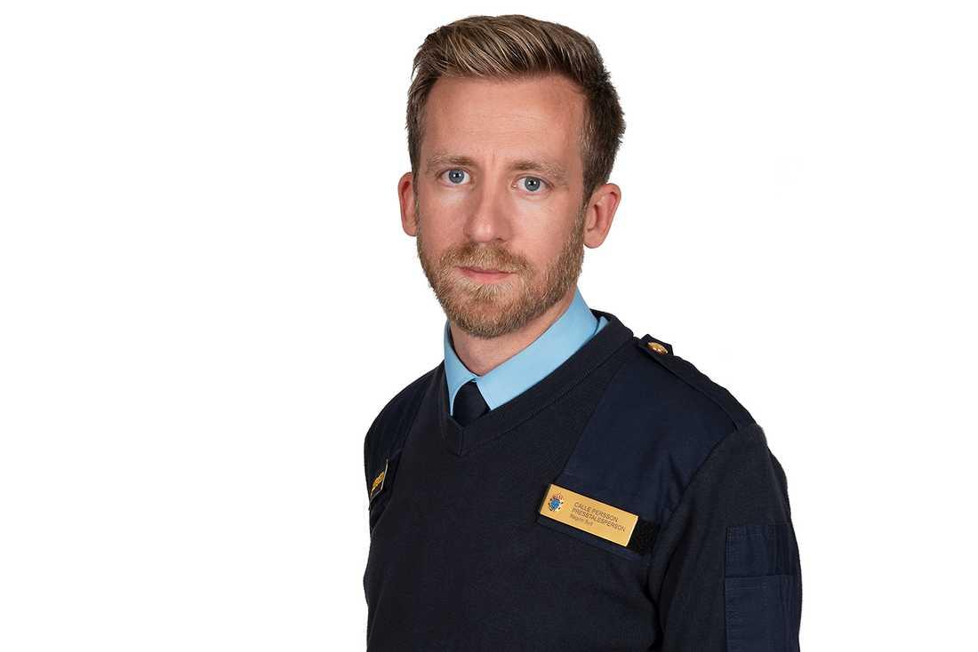 Calle Persson, presstalesperson vid polisregion Syd.