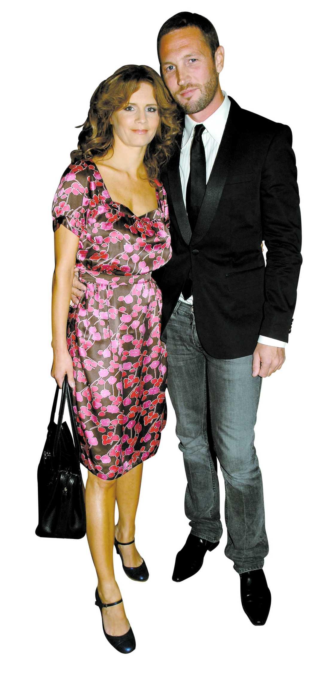 Lena Philipsson och Martin Björk var tillsammans i fyra år.