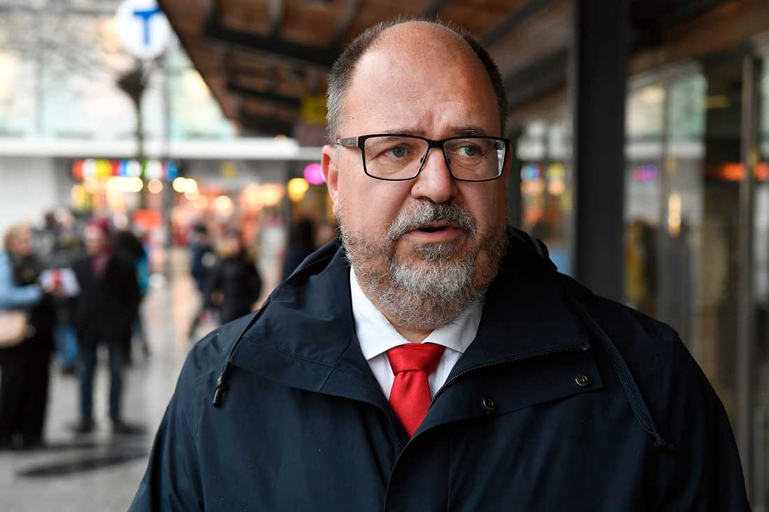 Karl-Petter Thorwaldsson, LO:s ordförande.