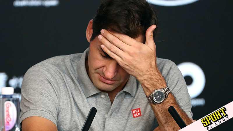 Federer skadad – missar halva säsongen
