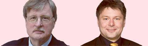 Bosse Lundquist och Bosse Johansson kandiderar båda för ordförandeposten.