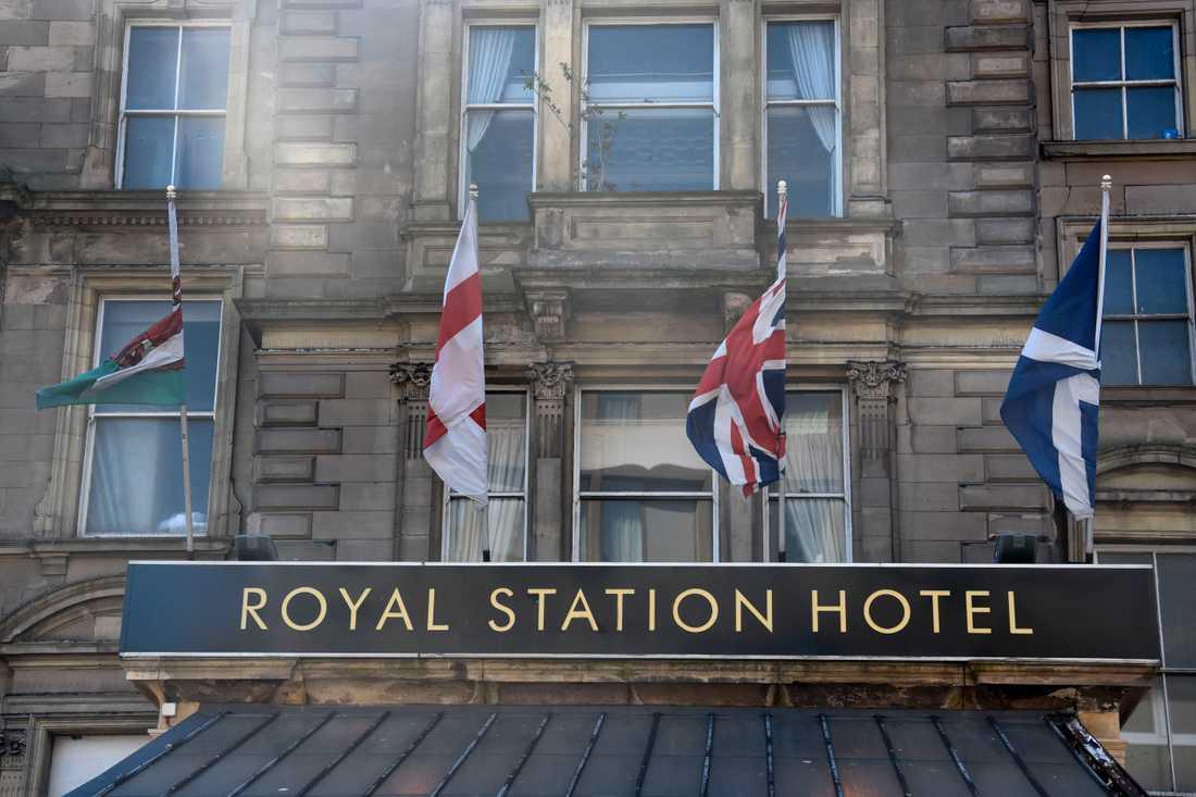 Än så länge fladdrar flaggorna från Wales, England, Storbritannien och Skottland sida vid sida utanför järnvägshotellet i Newcastle. Men brexit har gjort relationen allt mer snårig.