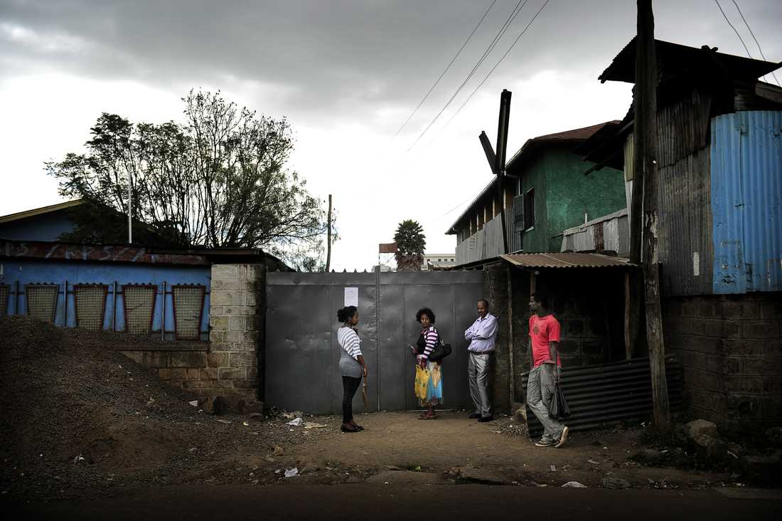 Här, i Kalityfängelset i Etiopiens huvudstad Addis Abeba, sitter Johan Persson och Martin Schibbye.