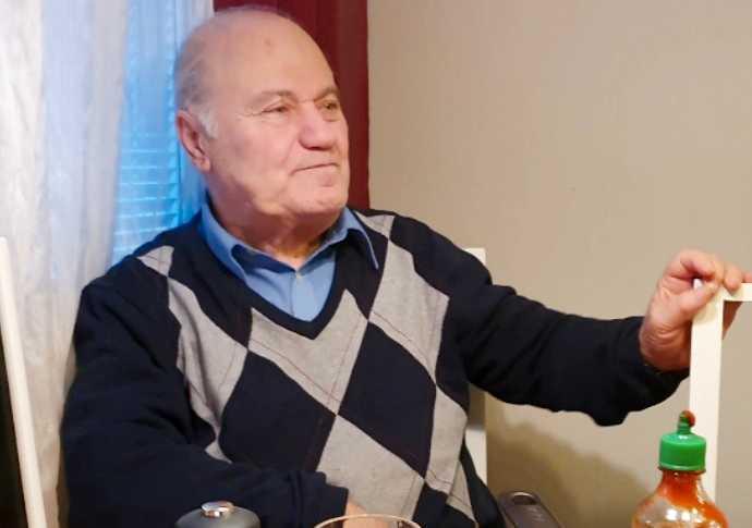 Elias, 83, avled på Danderyds sjukhus i lördags.