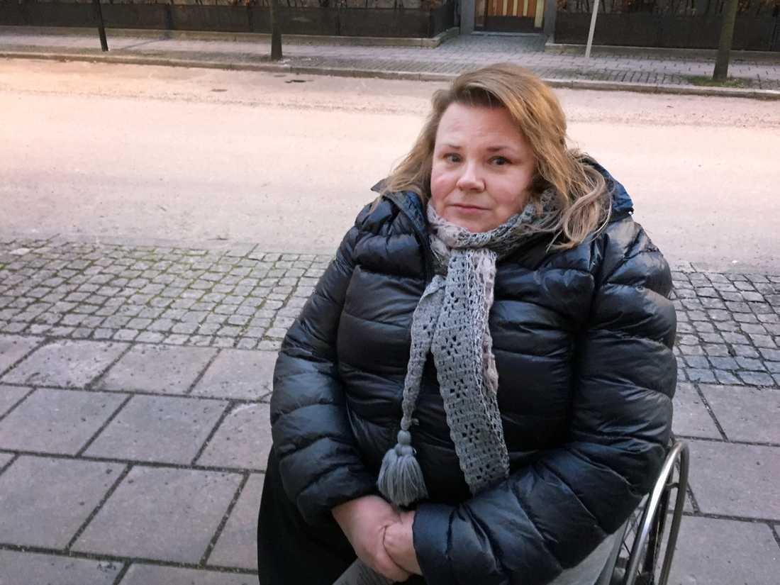Maria Johansson utsattes för diskriminering på krogen