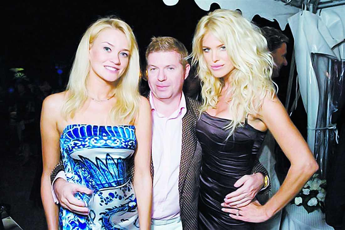 levde jetsetliv Ryske Leonid Rozhetskin, god för miljoner, var spårlöst försvunnen i fyra år. Han är gift med modellen Natalya Belova (t.v) och vän till svenska superstjärnan Victoria Silvstedt och nu tror polisen att hans kropp har hittats i skogen utanför semesterorten Jurmala.