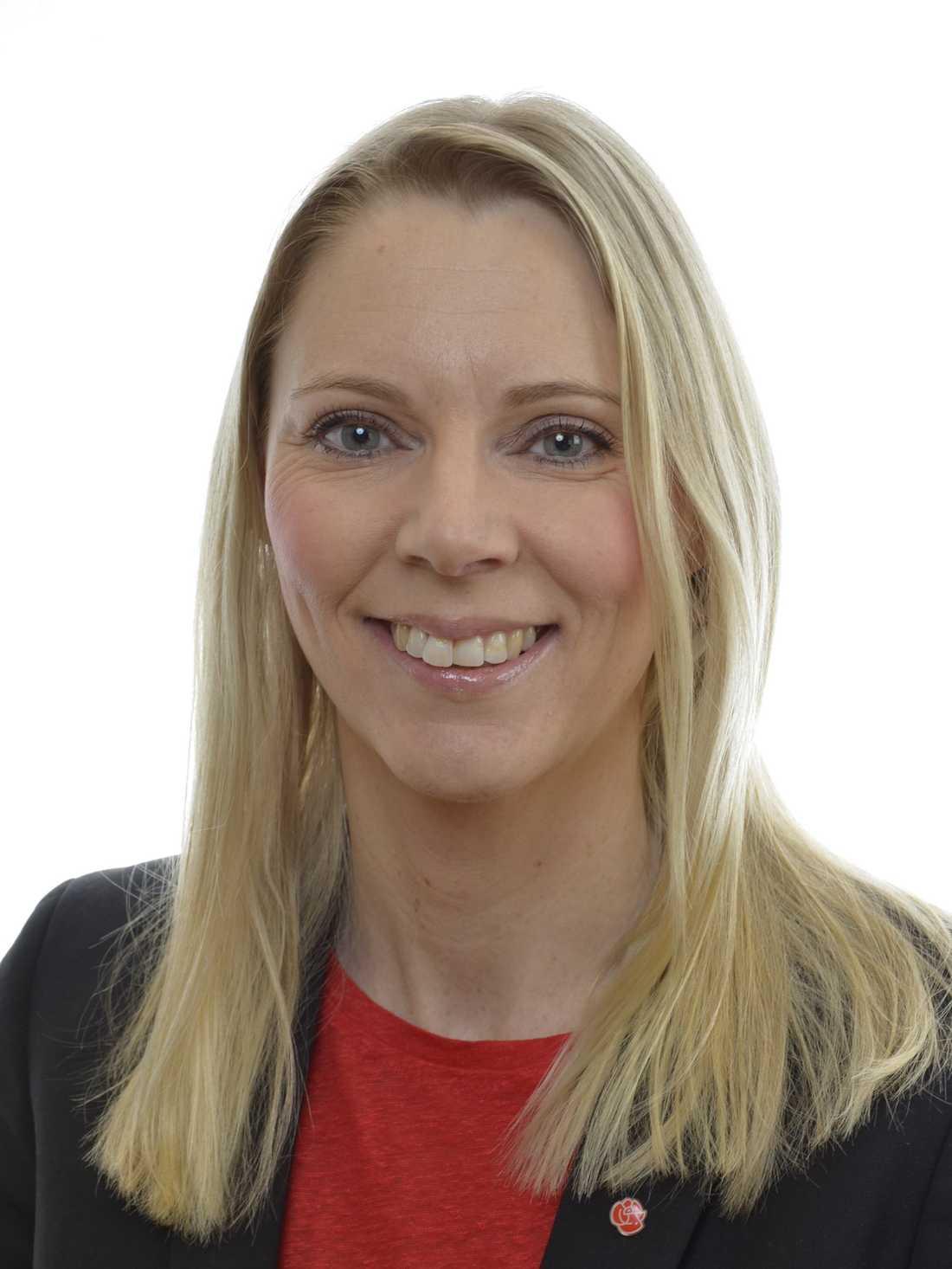 Åsa Westlund, miljöpolitisk talesperson, Socialdemokraterna.