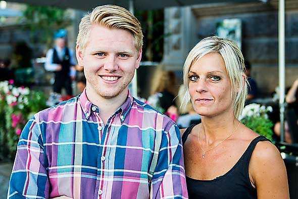 Aftonbladet Linus Pettersson och Carolina Byrmo.