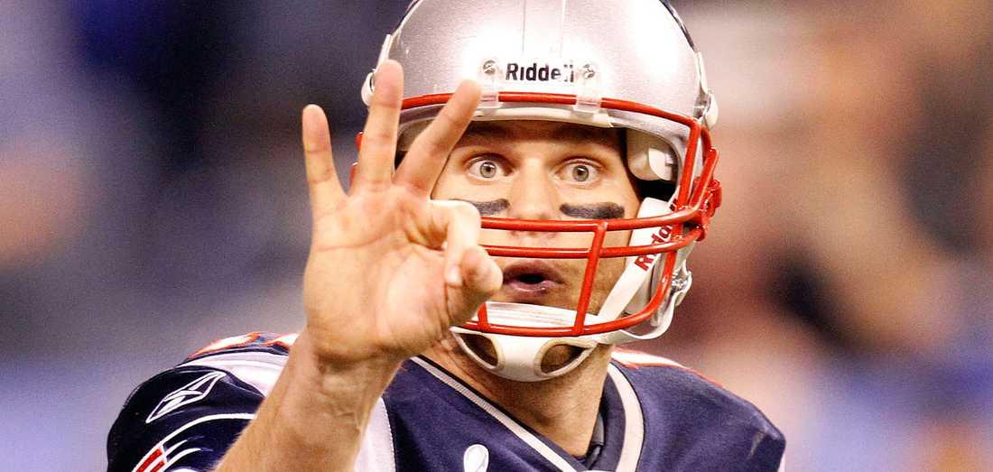 Superstjärnan Tom Brady