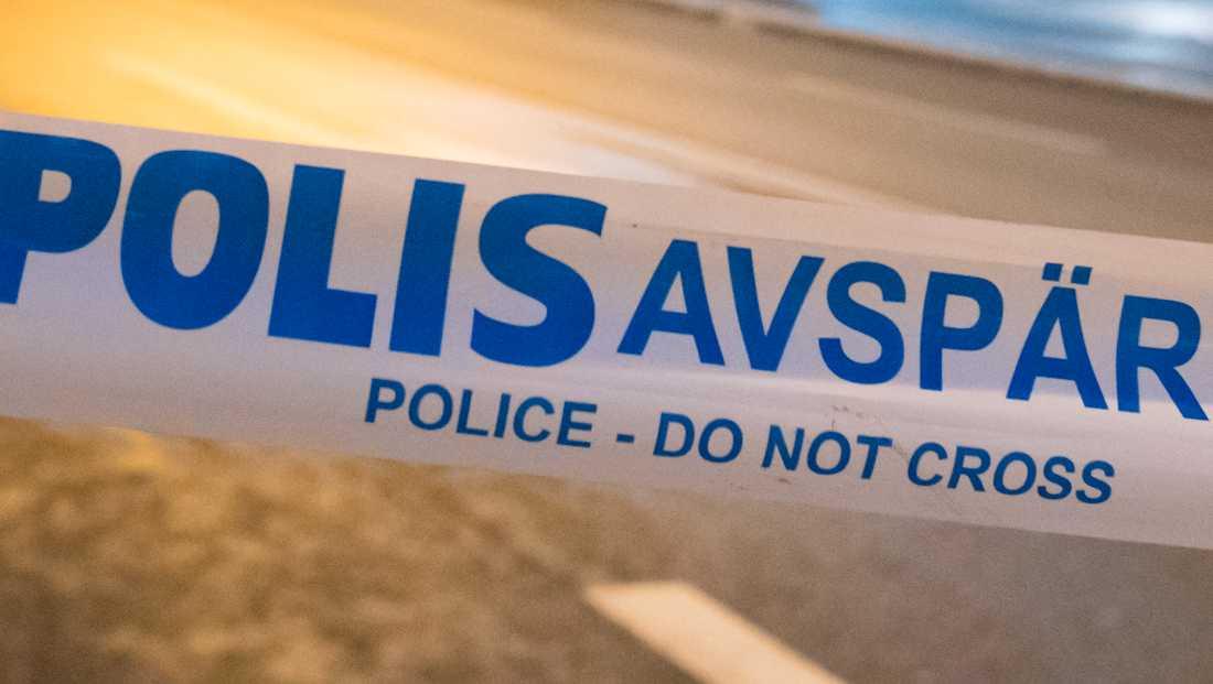 Polisen har hittat tomhylsor i Bromsten i västra Stockholm. Arkivbild.