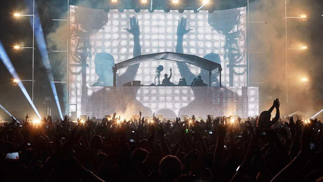 Aviciis avskedskonsert i Malmö 2016.