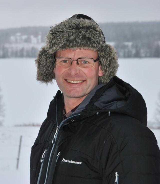 Wilhelm Nyh, ekologisk mjölkbonde, 48 år från Trångsviken