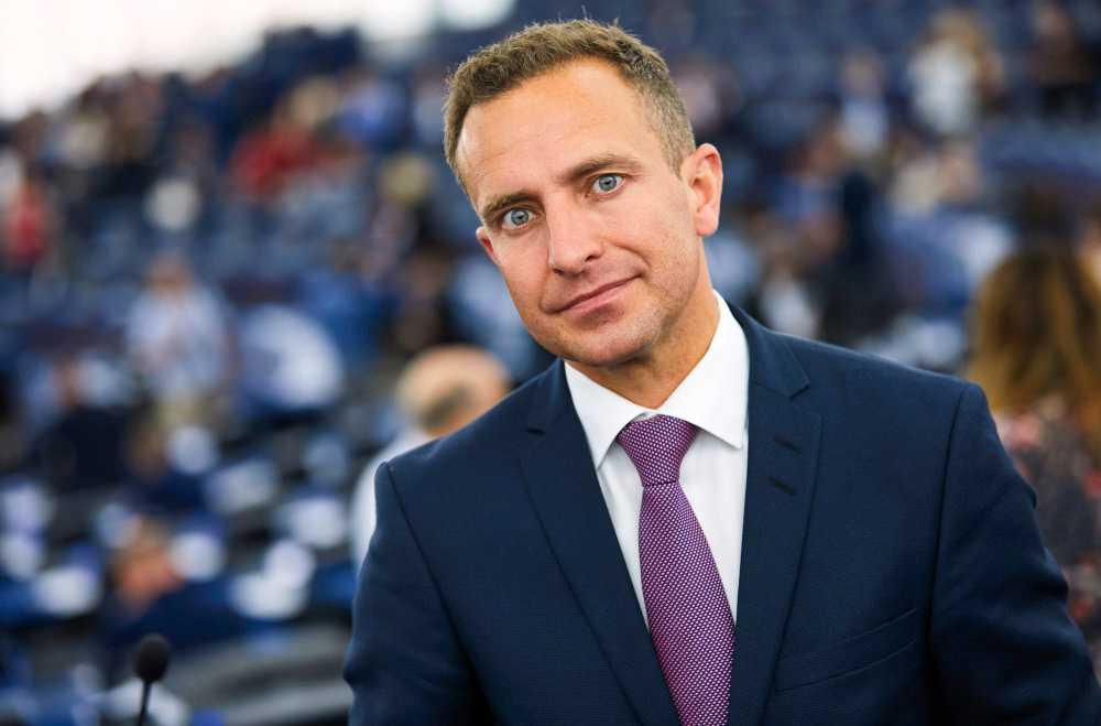 Moderaten Tomas Tobé i EU-parlamentet. Arkivfoto.
