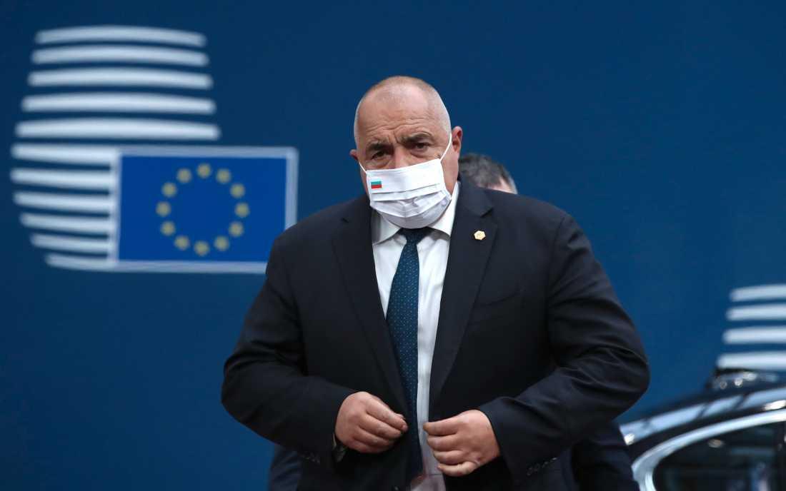 Bulgariens premiärminister Boyko Borissov. Arkivbild.