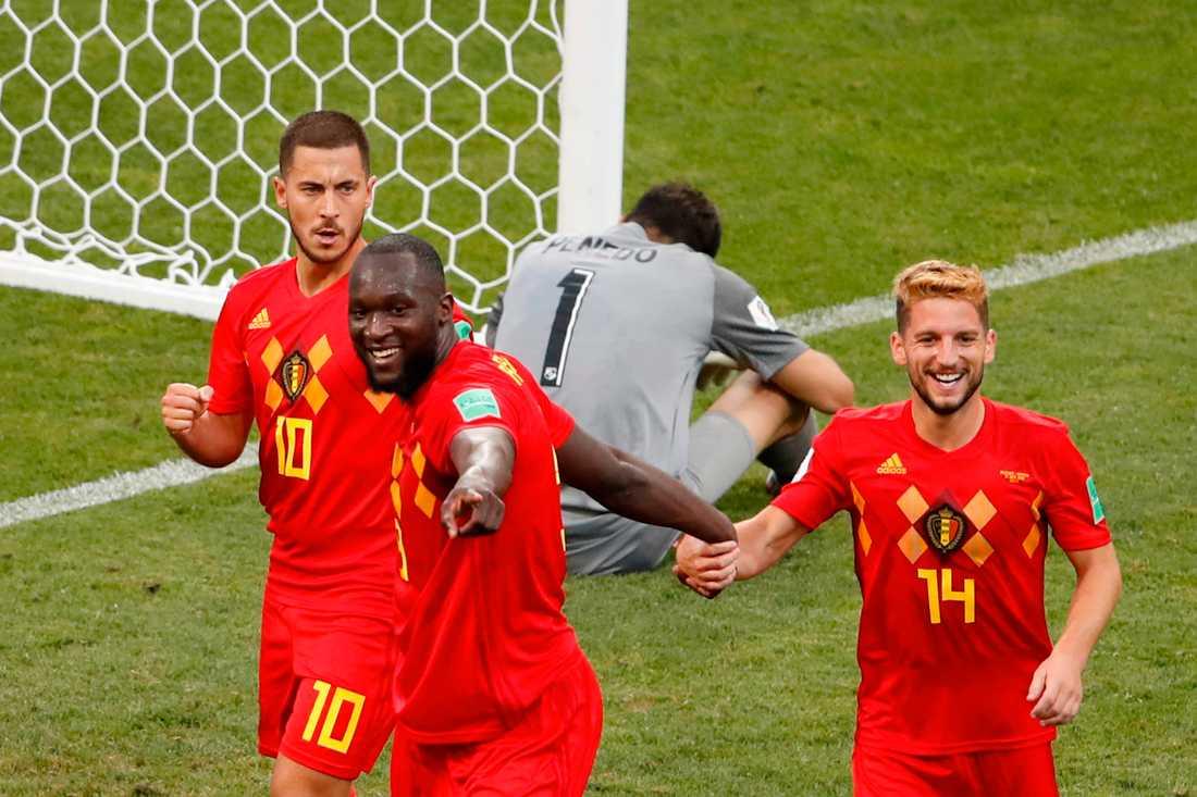 Lukaku gjorde två mål för Belgien i VM-premiären. Nya mål i dag?