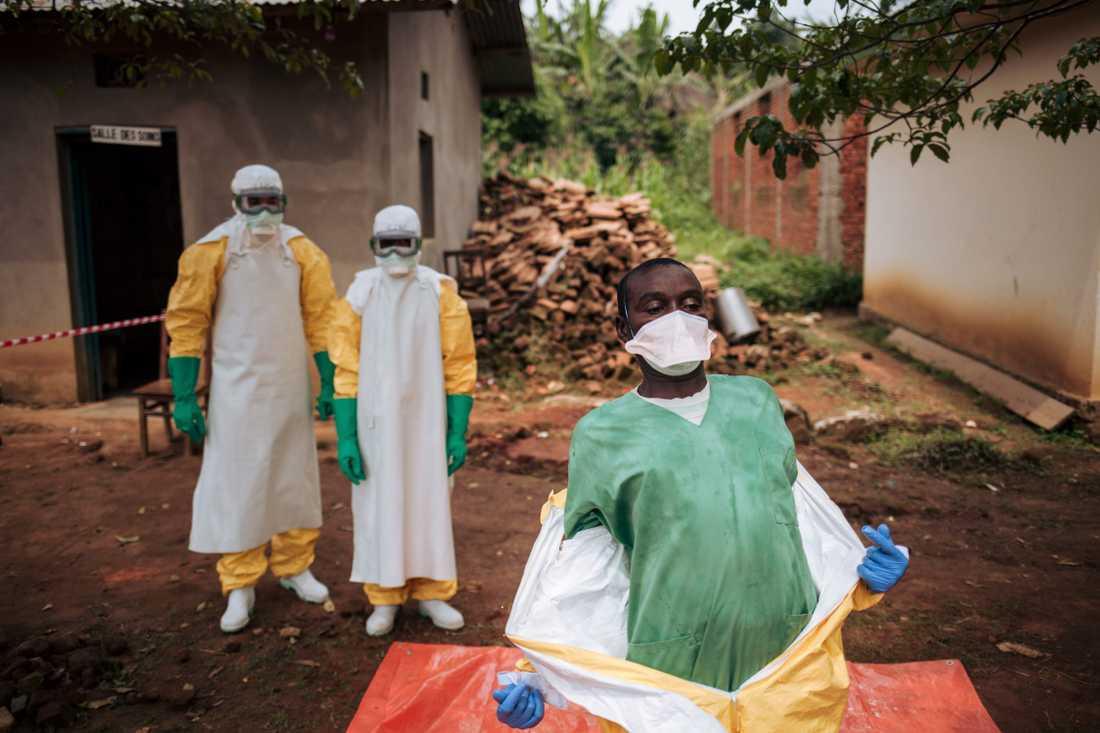 Ebolautbrottet i Kongo-Kinshasa riskerar att förvärras, varnar sjukvårdspersonal på plats i Nordkivu, den östra region som drabbats värst. Arkivbild.