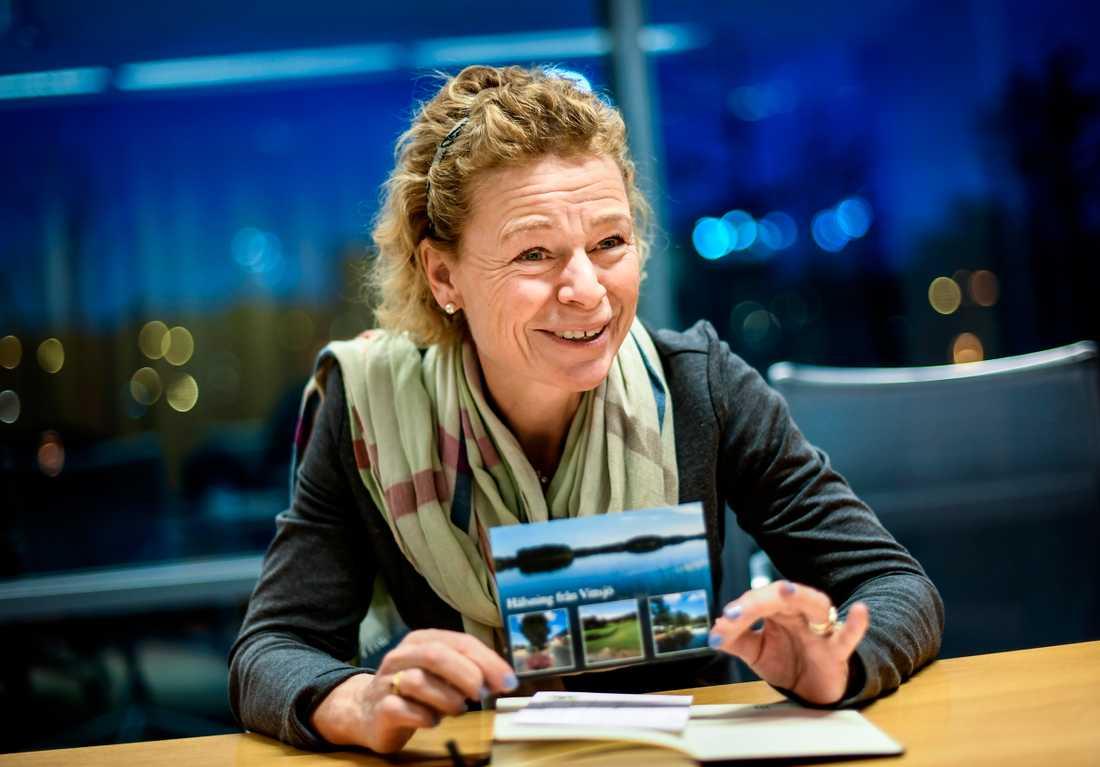 Annemarie Gardshol, vd Postnord Sverige.