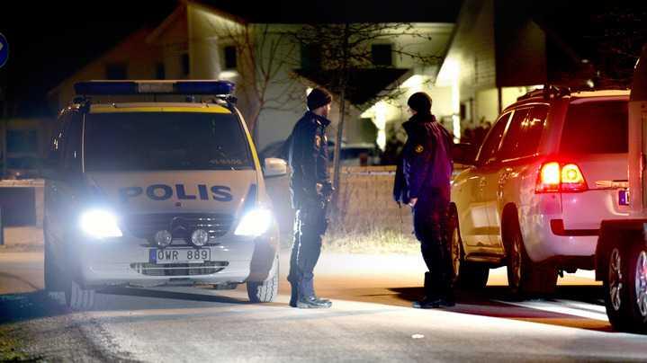 En detonation har skett vid en villa i Strängnäs.