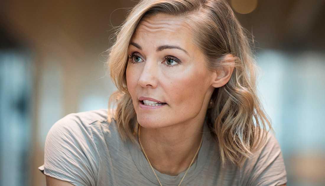 Carina Berg är en av alla de svenska kändiskvinnor som nu berättar om sexuella trakasserier.