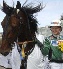 BENNY GULDHOV I Sprintermästaren kan man kolla in blivande Elitloppsstjärnor. Åke Svanstedt kan i Benny Palema ha en ny Gidde Palema.