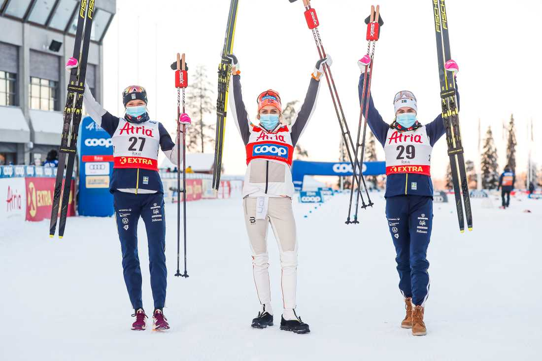 Inte förrän nästa år får vi se de svenska skidåkarna tävla igen.