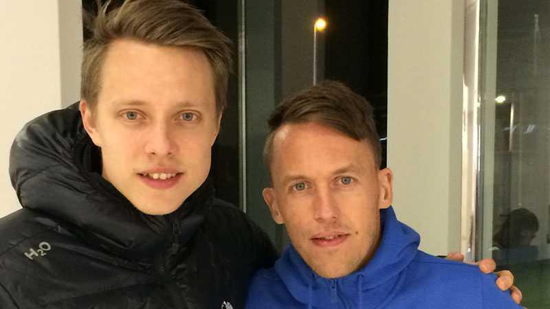 Viktor Lundberg och Mattias Moström.
