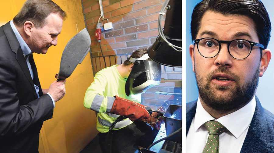 Det krävs ett gediget och robust värn mot Socialdemokraterna och andra vänsterliberaler som bedriver en arbetarfientlig politik, skriver Jimmie Åkesson.