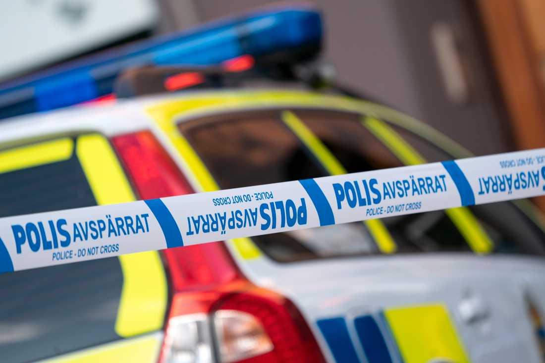 Polisen har genomfört tillslagen mot bland annat två växlingskontor i samarbete med en rad andra myndigheter. Arkivbild.