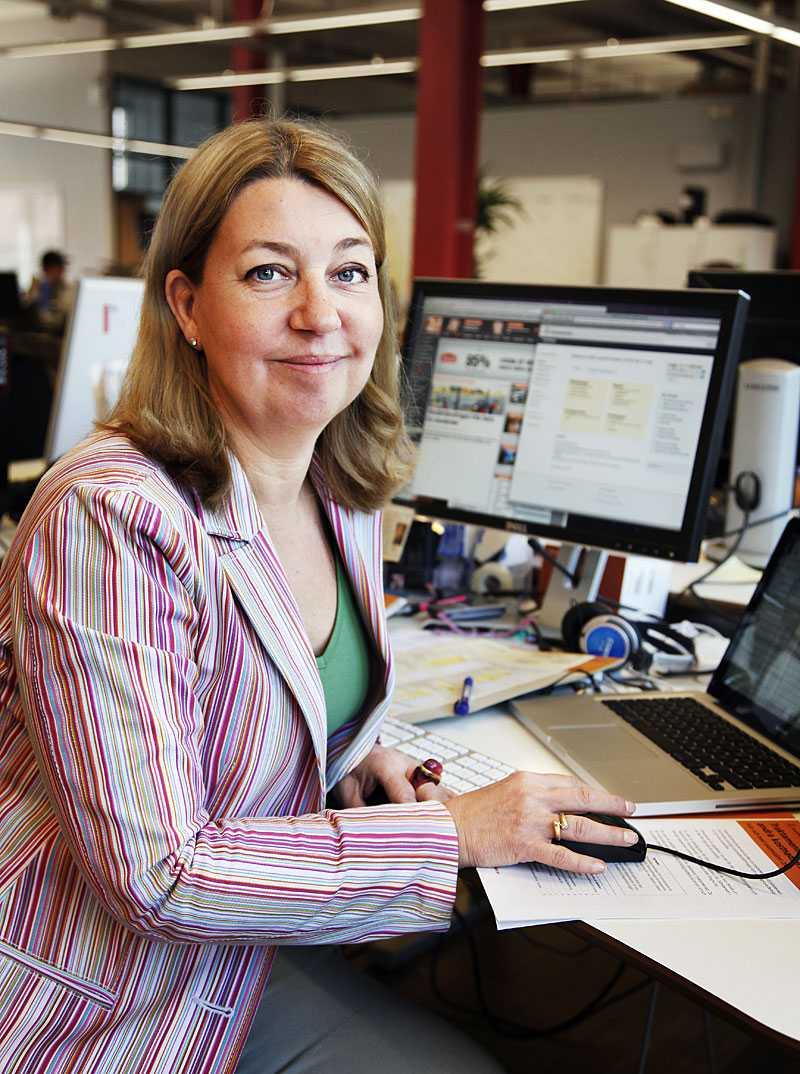Annika Creutzer, chefredaktör för E24:s privatekonomiska sajt Pengar24.se.