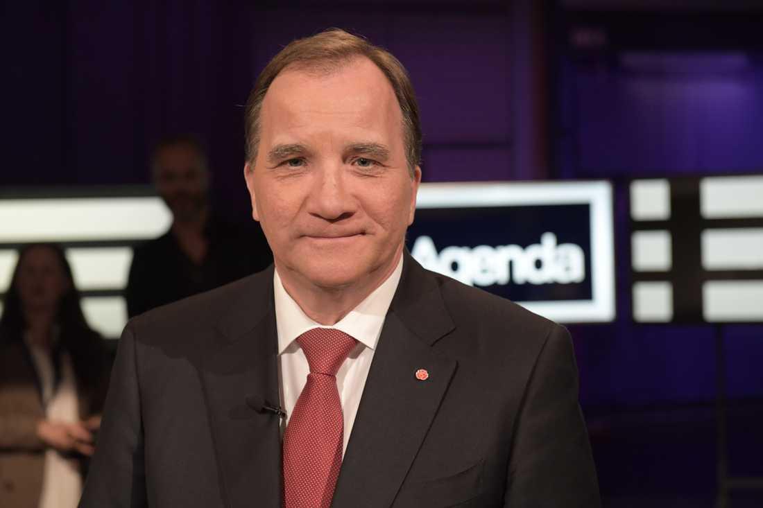 Statsminister Stefan Löfven (S).