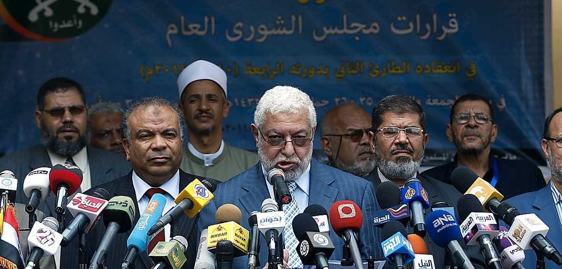 Mahmoud Hussein, ledare för Muslimska brödraskapet.
