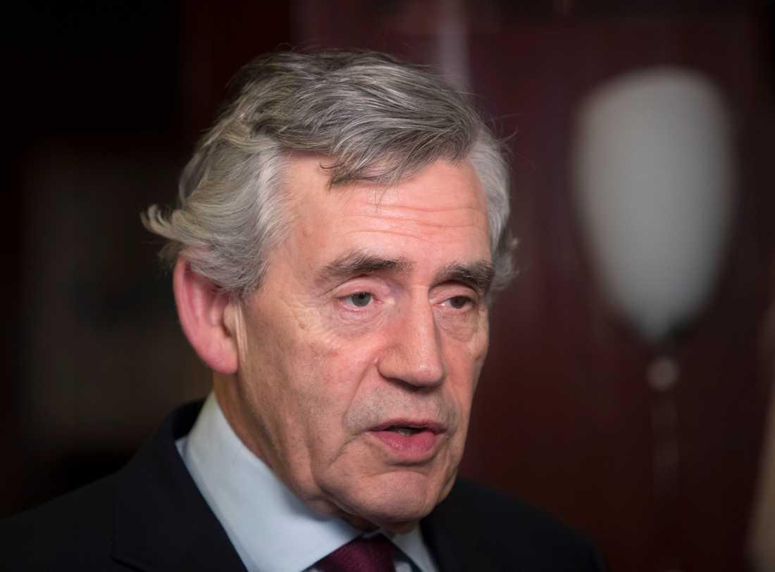 Storbritanniens premiärminister Gordon Brown. Arkivbild.