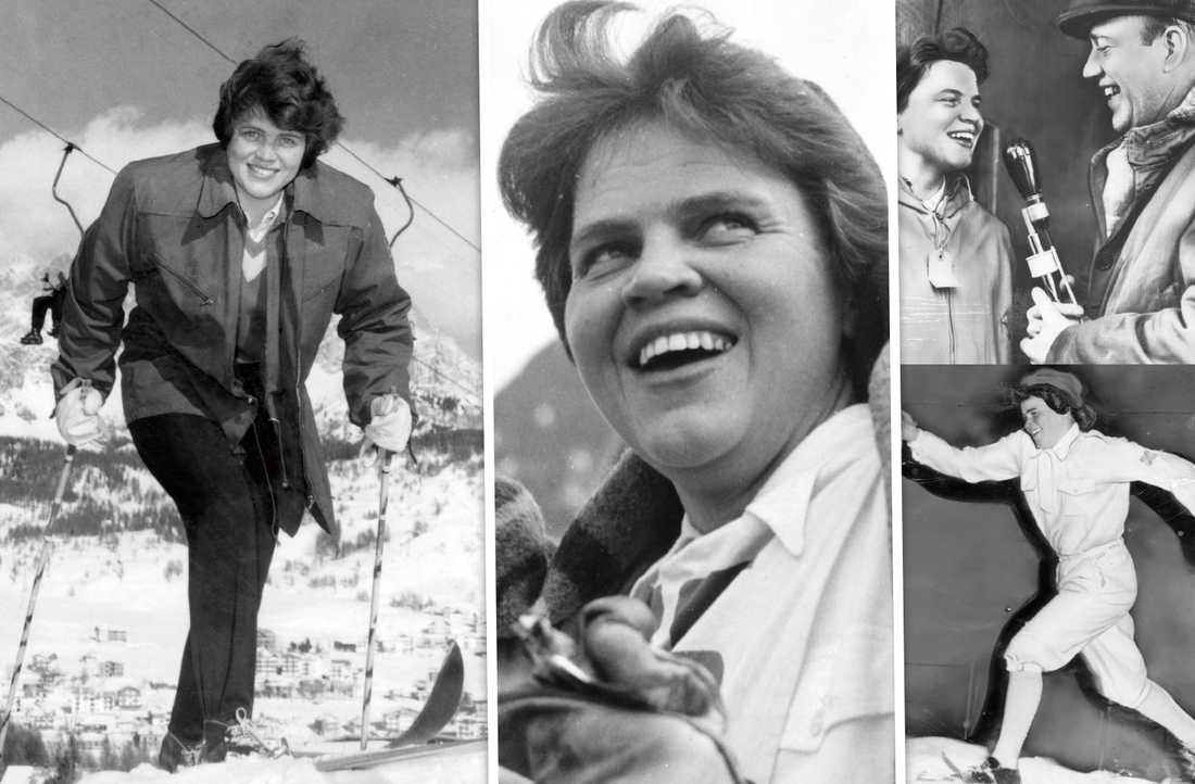 OS-guldet 1960 skrev in Sonja Edström-Ruthström för evigt i historieböckerna.