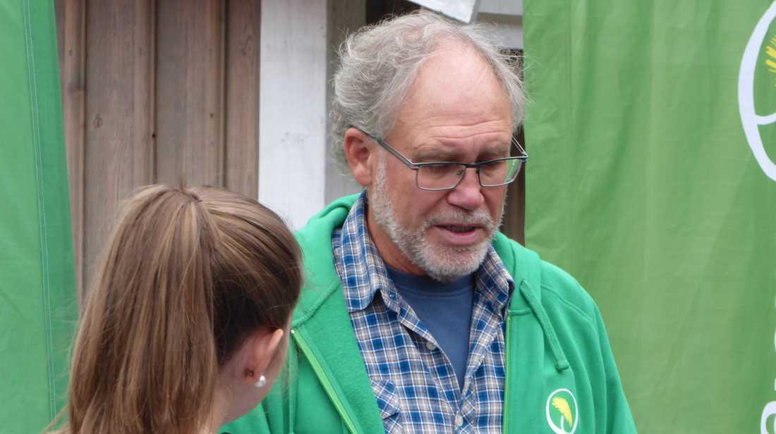 Miljöpartisten Kjell Hjalmarsson i Borås