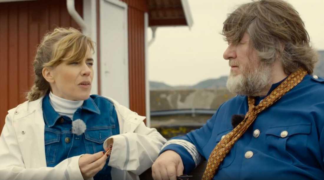 Annika Norlin besökte Ebbot Lundbergs ark och en hel miljon tittade.