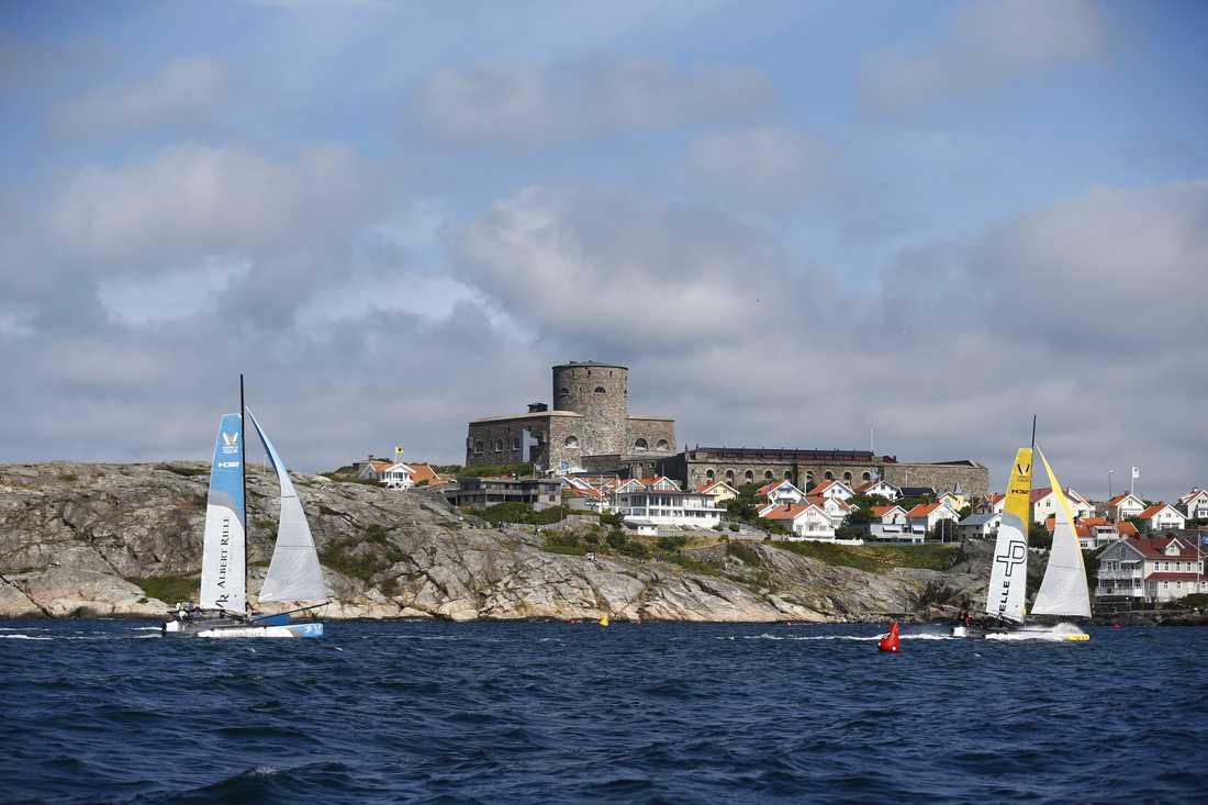 Marstrand är van att ha stora seglingstävlingar, som VM i matchracing (bilden). Arkivbild.