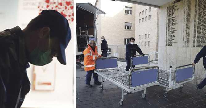 Italienskt sjukhus ska utredas efter corona-explosionen