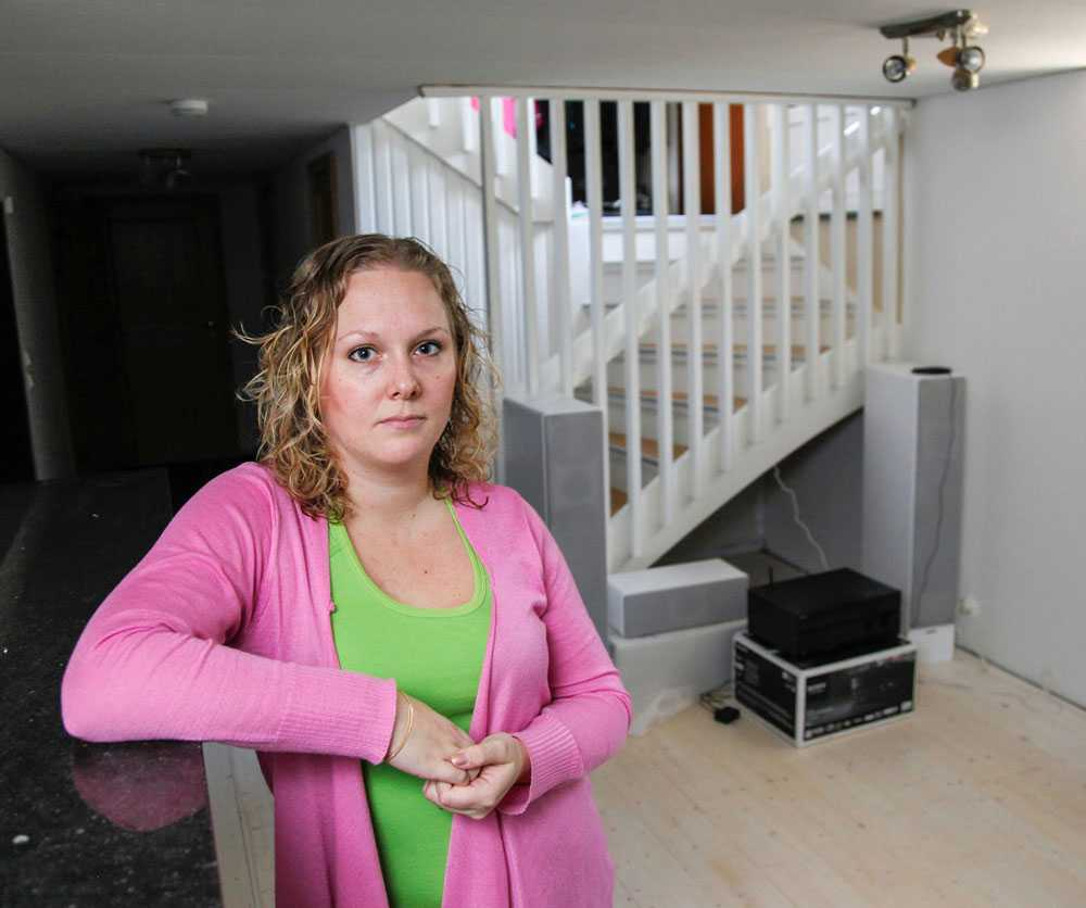 Malin Andersson blev lurad när hon skulle köpa en projektor via Blocket.