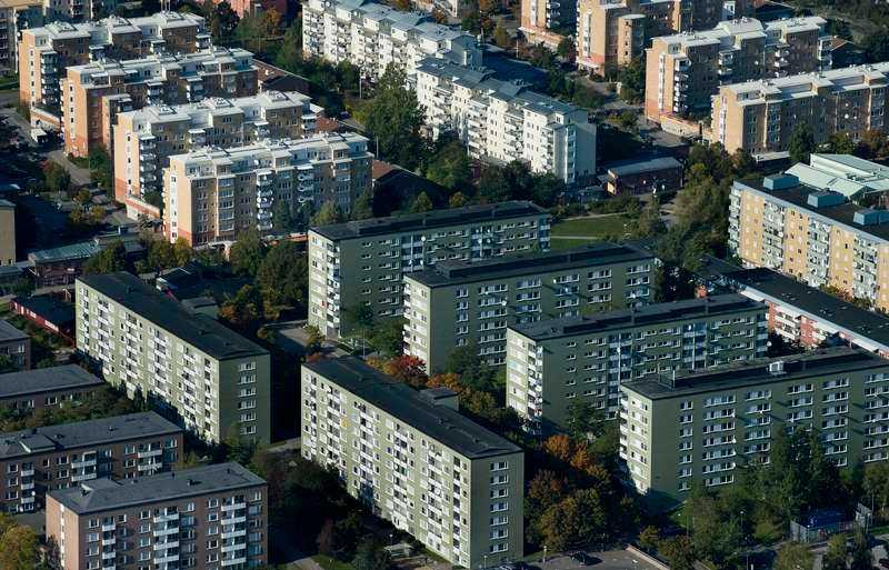 ENDA ALTERNATIVET- Områden som Rinkeby var inte populära ens när de byggdes, dit flyttade de som inte hade andra valmöjligheter.