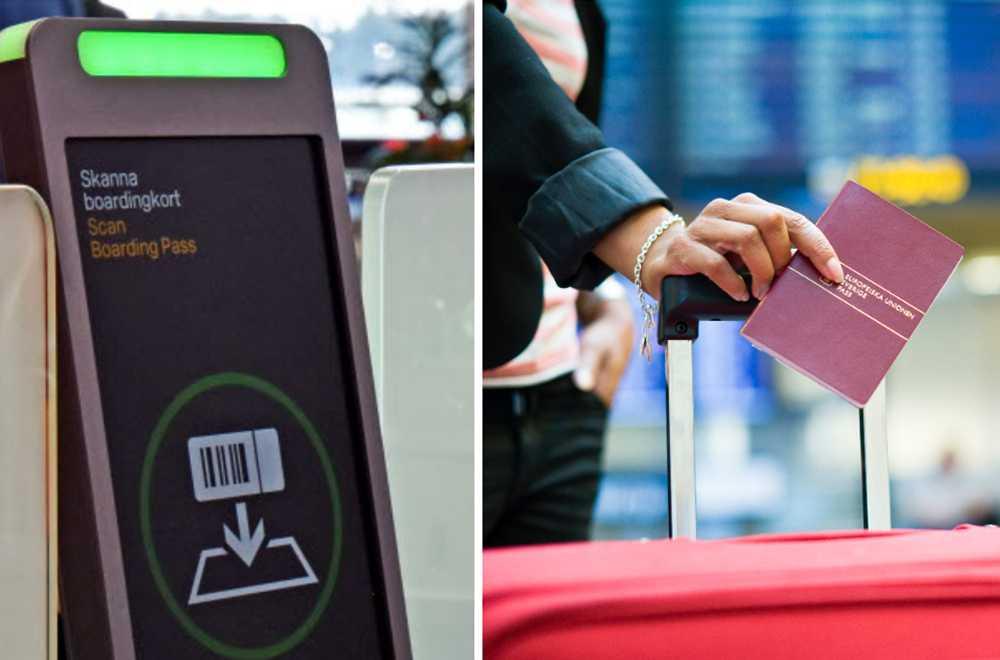 Nu införs automatiska inpasseringsgrindar vid säkerhetskontrollerna på bland annat Arlanda.